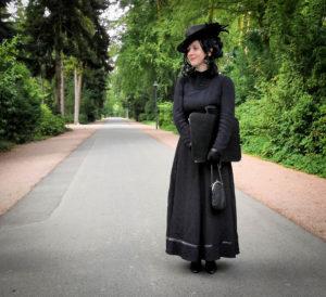 Die Schwarze Witwe in Darmstadt – Friedhofsgeflüster auf dem Parkfriedhof